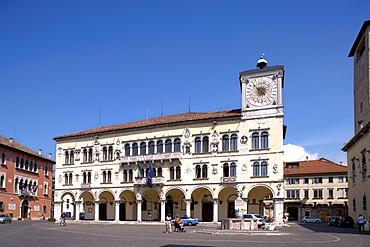 Palace Rettori, Belluno, Dolomites, Veneto, Italy