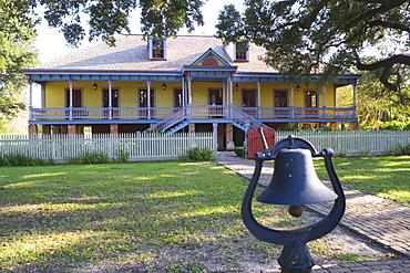 Laura Plantation is a rare example of a creole plantation house, Vacherie, Louisiana, USA