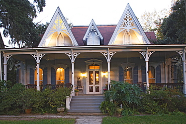 St. Francisville Inn Bed and Breakfast, built in the 1880s, is an excellent example of victorian gothic style, St. Francisville, Louisiana, USA
