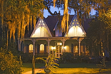 St. Francisville Inn Bed and Breakfast, built in the 1880, s is an excellent example of victorian gothic style, St. Francisville, Louisiana, USA