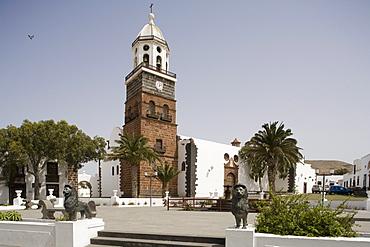 Church, Nuestra Senora de Guadalupe, Teguise, Lanzarote, Canary Islands, Spain, Europe
