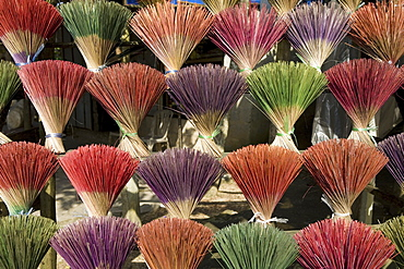 Bundle of fumigating sticks in Hue, Thua Thien-Hue Province, Vietnam, Asia