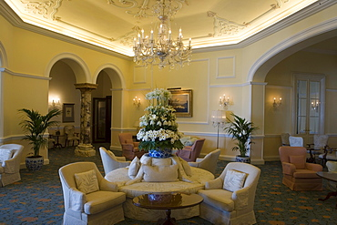 Lounge at Reid's Palace Hotel, Funchal, Madeira, Portugal