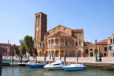 Church of Santa Maria e San Donato, Murano, Venice, Laguna, Veneto, Italy
