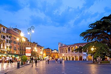 Arena, Piazza Bra, Verona, Veneto, Italy