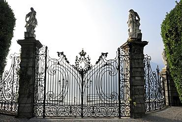 Portal, Villa Carlotta, Tremezzo, Lake Como, Lombardy, Italy