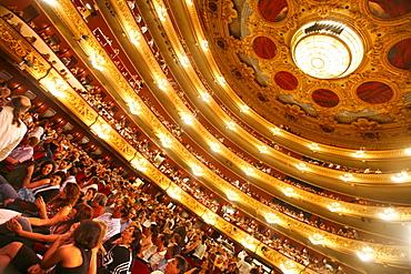 Gran Teatre del Liceu, Barcelona, Catalonia, Spain