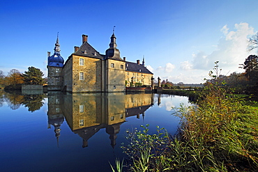 Lembeck castle, Dorsten, Muensterland, North Rhine-Westphalia, Germany