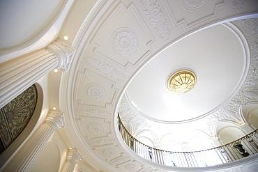 Foyer ceiling, Hotel Buehlerhoehe, Buehl, Black Forest, Baden-Wuerttemberg, Germany