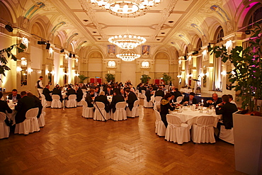 Banquet, Hotel Waldhaus, Flims, Canton of Grisons, Switzerland