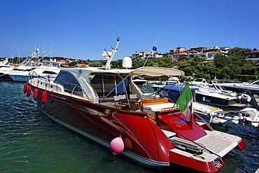 Italy Sardinia Costa SmeraldaItaly Sardinia Porto Rotondo Yachting Port