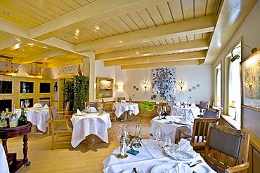 Joerg Mueller Restaurant, Westerland, Sylt Island, North Frisian Islands, Schleswig-Holstein, Germany