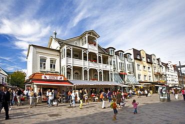 Friedrichstrasse, Westerland, Sylt Island, North Frisian Islands, Schleswig-Holstein, Germany