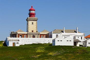 Lighthouse at Cabo da Roca, Costa de Lisboa, Lisbon District, Estremadura, Portugal, Atlantic
