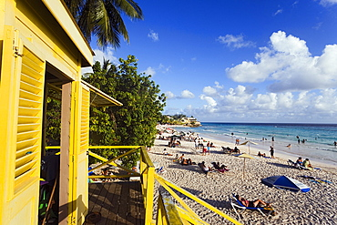 Lifequard Towert, Accra Beach, Rockley, Barbados, Caribbean