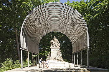 The Richard-Wagner-Denkmal, Grosser Tiergarten in Berlin, sculpted by Gustav Eberlein Berlin, Germany