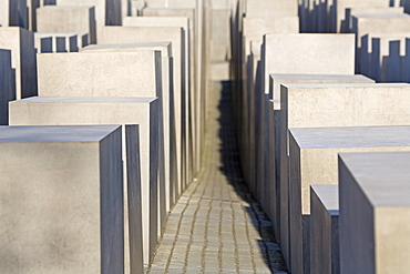 The Memorial to the Murdered Jews of Europe, Holocaust memorial site, Berlin Germany