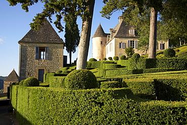 Les Jardins de Marqueyssac, near Beynac, The wy of St. James, Road to Santiago, Chemins de Saint-Jacques, Via Lemovicensis, Beynac, Dept. Dordogne, Région Aquitaine, France, Europe