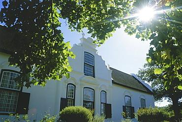 Manor house of Boschendal Estate, Stellenbosch, Western Cape, South Africa, Africa