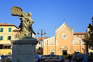 Piazza della Repubblica, Portoferraio, Island of Elba, Italy