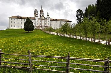 Maria Weissenstein pilgrimage church, Petersberg, Deutschnofen, South Tyrol, Italy