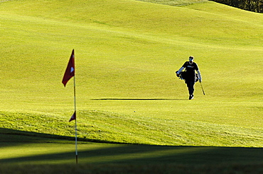 Reischach golf club, Puster valley, Val Pusteria, South Tyrol, Italy