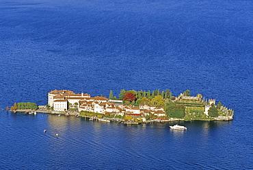 View at Isola Bella, Borromean island, Lago Maggiore, Piedmont, Italy, Europe