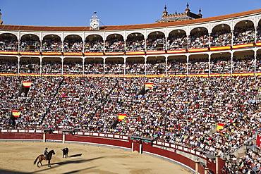 Bullfight (Corrida de Toros), Las Ventas bullring, Madrid, Spain