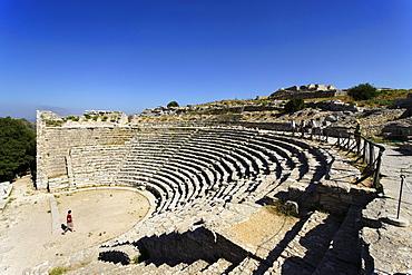 Greek Theater, Segesta, Sicily, Italy