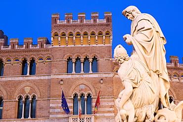 Palazzo Aldobrandeschi, Piazza Dante Alighieri, Grosseto, Tuscany, Italy