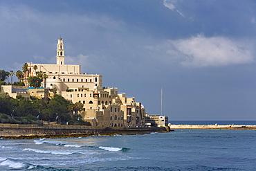 View at Jaffa, ancient arabic sea port, Tel Aviv, Israel, Middle East