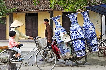 In Tam Coc in Halong bay near Ninh Binh, north Vietnam, Vietnam