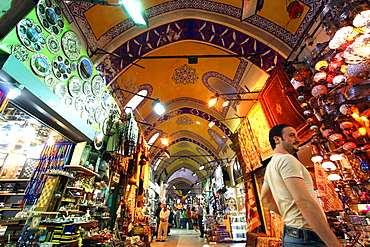 The Grand Bazar, Istanbul, Turkey