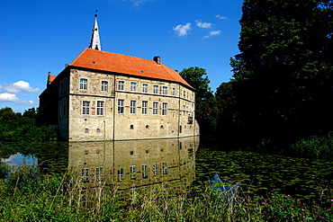 Luedinghausen Castle, Muensterland, Nordrhein-Westfalen, NRW, Germany