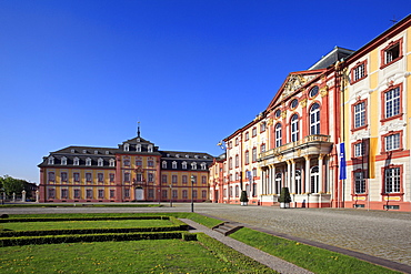 Palace, Bruchsal, Black Forest, Baden-Wuerttemberg, Germany