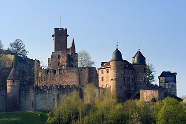 Wertheim Castle, Wertheim, valley of Maintal, Baden-Wuerttemberg, Germany
