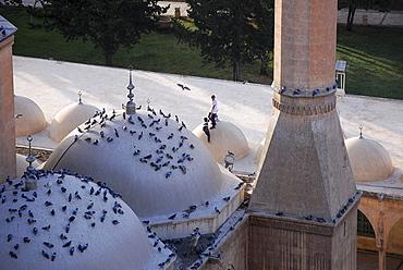 Mevledi-i Halil Mosque, Sanliurfa, southeast-Anatolia, Turkey