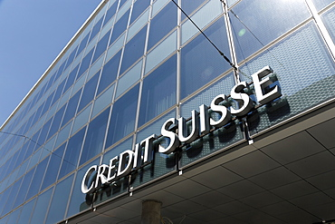 Bank, Credit Suisse, Basel, Switzerland