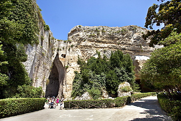 The ear of Dyonisus, archeological zone, Neapolis, Syracuse, Sicily, Italy