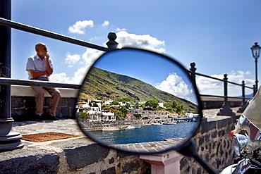 Harbour, Santa Maria, Salina Island, Aeolian islands, Sicily, Italy