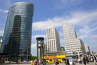 Bahn Tower and Beisheim Center at Potsdamer Platz, Berlin, Germany