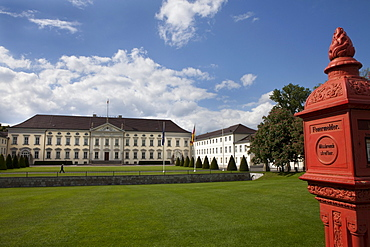 Bellevue Palace, official residence of the President of Germany, Berlin, Germany