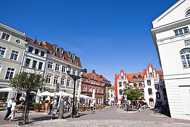 Old town, Wismar, Mecklenburg-Vorpommern, Germany