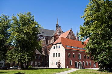 St George's Church, Wismar, Wi smar Bay, Mecklenburg-Vorpommern, Germany