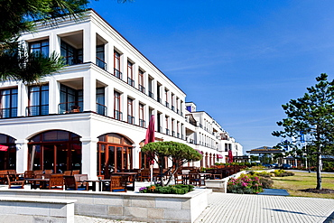 Hotel complex, Hohe Dune, Warnemunde, Rostock, Mecklenburg-Vorpommern, Germany