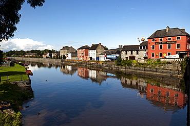 View over River Nore to Kilkenny, County Kilkenny, Kilkenny