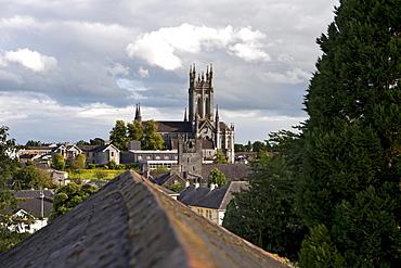 View of Cathedral of St. Mary, Kilkenny, County Kilkenny, Ireland, Europa