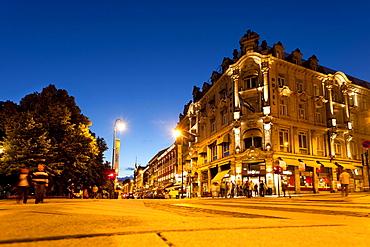 Grand Hotel, Karl Johans gate, Oslo, South Norway, Norway