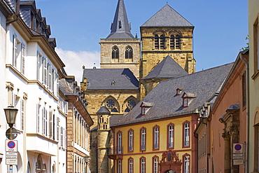 Liebfrauenstrasse at Trier, Mosel, Rhineland-Palatinate, Germany, Europe