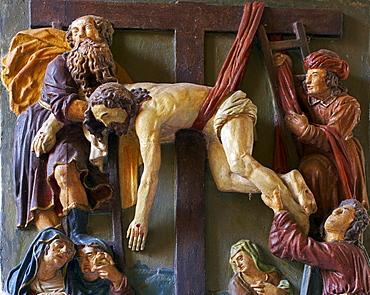 Saint Cross Chapel, Ediger-Eller, Mosel, Rhineland-Palatinate, Germany, Europe
